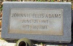Johnnie Ellis Adams