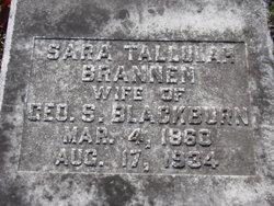 """Sara Tallulah """"Lula"""" <I>Brannen</I> Blackburn"""
