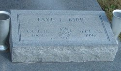 Faye Laura <I>Buskirk</I> Kirk