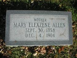 Mary Elexzene Allen