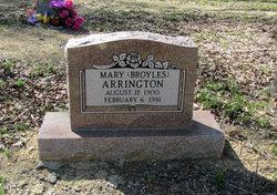 Mary <I>Broyles</I> Arrington