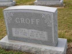 Maude H. <I>Ranck</I> Groff