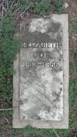 Elizabeth Ann <I>Parker</I> Coe