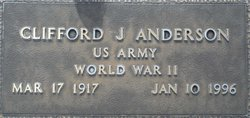 Clifford J. Anderson