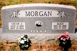 Mary Alice <I>Thomas</I> Morgan