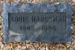 "Abigail ""Abbie"" <I>Garrison</I> Hardeman"