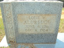Louie Wiley Aldredge