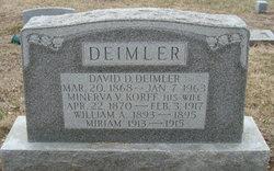 David D Deimler