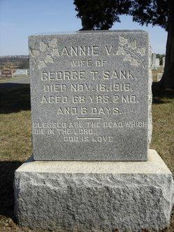 Anna F <I>VanSant</I> Sank