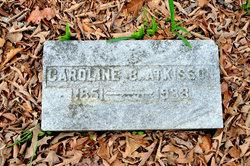Caroline <I>Buffington</I> Atkisson