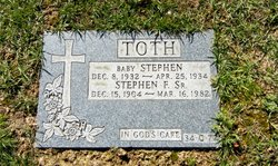 Baby Stephen Toth