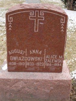 Alice M <I>Kub</I> Zalewski
