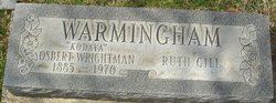 "Osbert Wrightman ""Kodaya"" Warmingham"