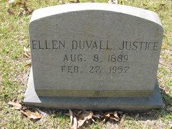 Ellen Kollock <I>Duvall</I> Justice