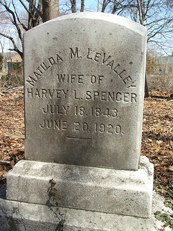 Matilda M. <I>Levalley</I> Spencer