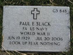 Paul Edward Slack
