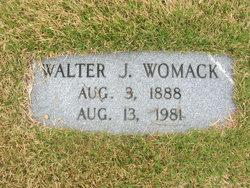 Walter J Womack