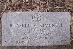 Pvt Russell V Kimbrel