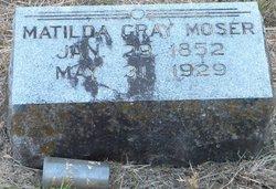 Matilda Gray Moser
