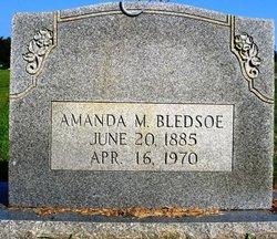 Amanda <I>Maness</I> Bledsoe