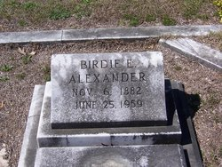Birdie <I>Easterling</I> Alexander