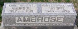 Mary E. <I>Pendleton</I> Ambrose