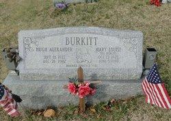 Hugh Alexander Burkitt
