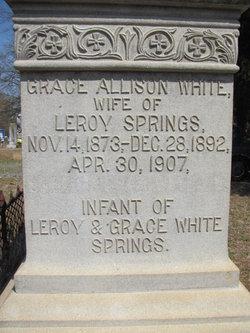 Grace Allison <I>White</I> Springs