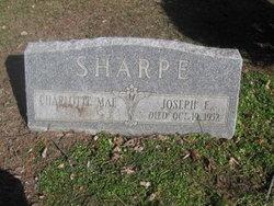 Joseph E Sharpe
