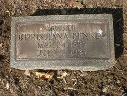 Christiana <I>Reiner</I> Benner