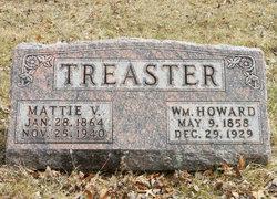 Mattie V <I>Hixson</I> Treaster