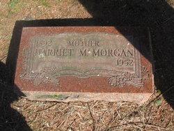 Harriet M Morgan
