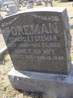 Annie E. <I>Frampton</I> Foreman