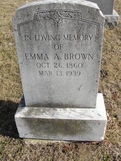 Emma <I>Anderson</I> Brown
