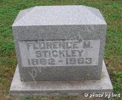 Florence M Stickley