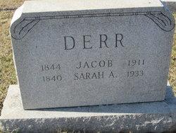 Sarah Ann <I>Benner</I> Derr