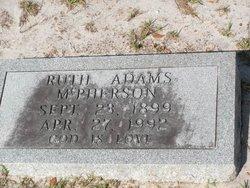 Ruth <I>Adams</I> McPherson