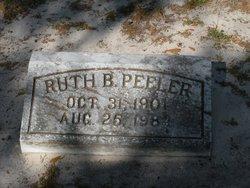 Ruth B Peeler