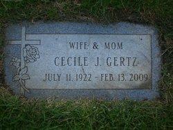 Cecile J. <I>Wawrzyniak</I> Gertz
