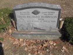 "David Richard ""Rick"" Robinson"