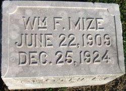 William F. Mize