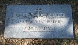 Sarah M. Weatherford