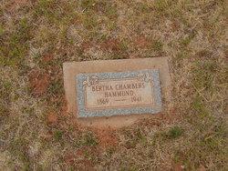 Bertha <I>Chambers</I> Hammond
