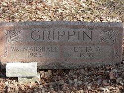 Etta Anna <I>Prentice</I> Grippin