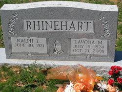 Lavona <I>Moore</I> Rhinehart