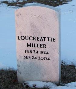Loucreattie Miller