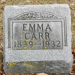 Emma <I>Eddy</I> Carr