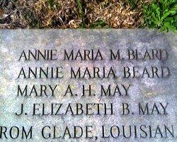 Mary Ann <I>Holmes</I> May