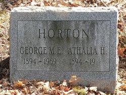 Athalia <I>Hayes</I> Horton