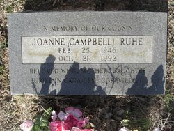 Joanne <I>Campbell</I> Ruhe